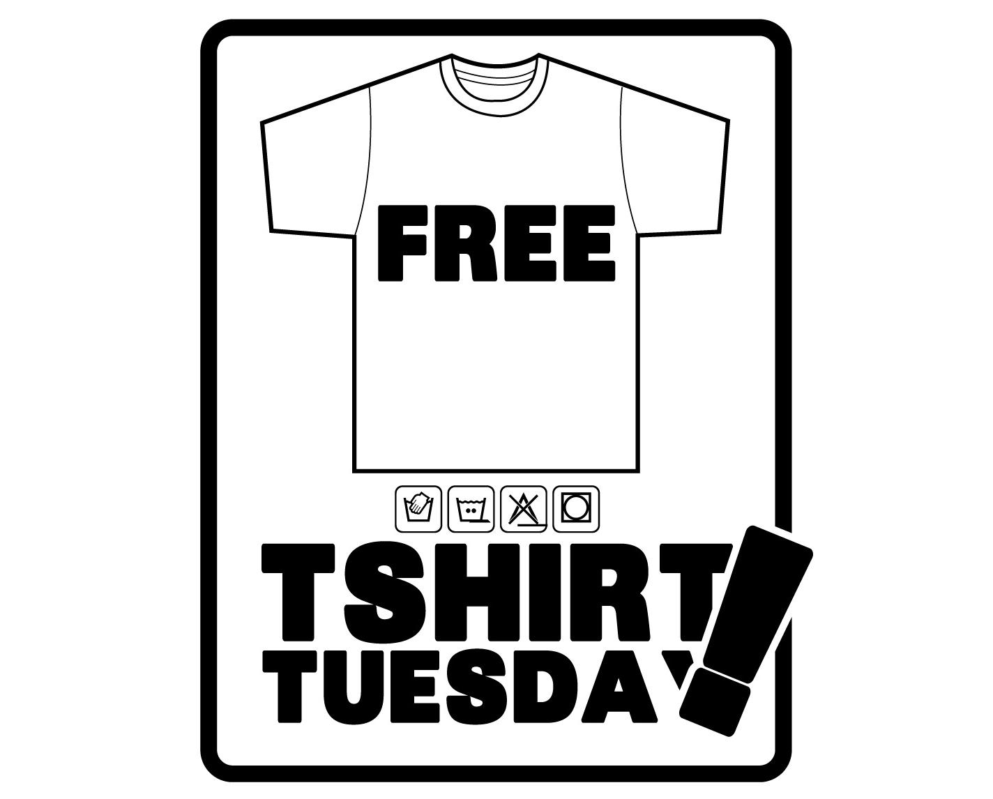 Free T-shirts Giveaway